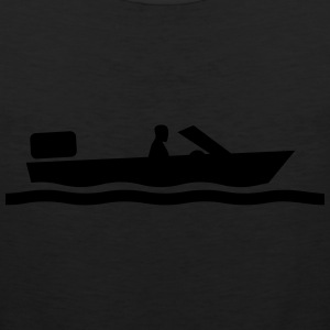 motorboat T-Shirts - Men's Premium Tank