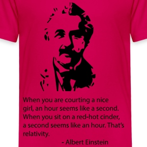 Einstein Quote Kids' Shirts - Toddler Premium T-Shirt