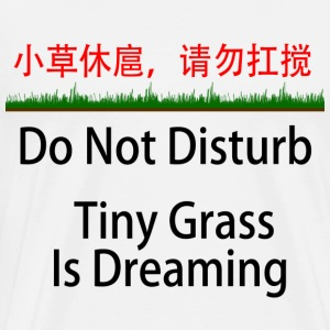 Tiny Grass is Dreaming - Chinese Mandarin - Men's Premium T-Shirt