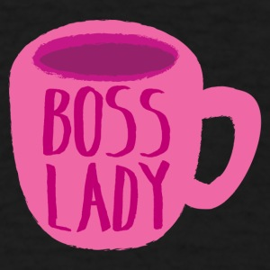 boss lady coffee mug cup Baby & Toddler Shirts - Men's T-Shirt