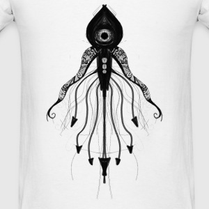Alien Squid - Men's T-Shirt