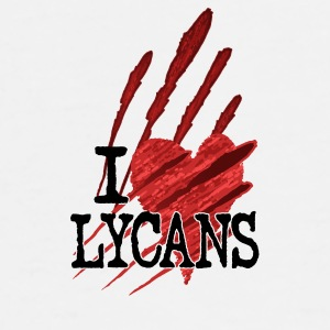 I Heart Lycans Mug - Men's Premium T-Shirt