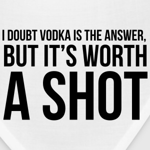 I doubt vodka is the answer but it's worth a shot Women's T-Shirts - Bandana