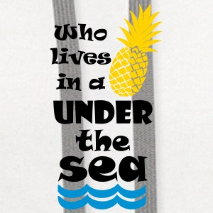 Who lives in a Pineapple under the Sea? Accessories - Contrast Hoodie