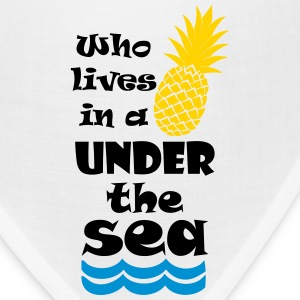 Who lives in a Pineapple under the Sea? Accessories - Bandana
