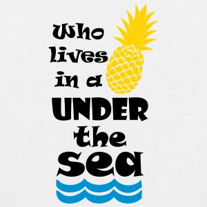 Who lives in a Pineapple under the Sea? Accessories - Men's Premium Tank