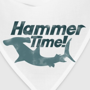 Hammer time shark week - Bandana