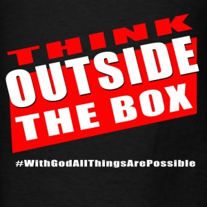 Outside the box - Men's T-Shirt