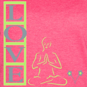 Meditation is Love Tanks - Women's Vintage Sport T-Shirt