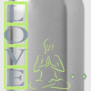 Meditation is Love Tanks - Water Bottle