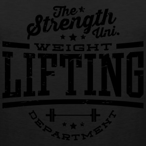 TSU - Weightlifting DEPT. T-Shirts - Men's Premium Tank