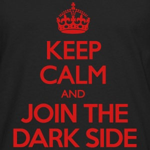 Keep Calm and Join the Dark Side Women's T-Shirts - Men's Premium Long Sleeve T-Shirt