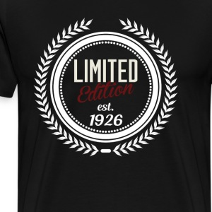 limited edition 1926 Hoodies - Men's Premium T-Shirt