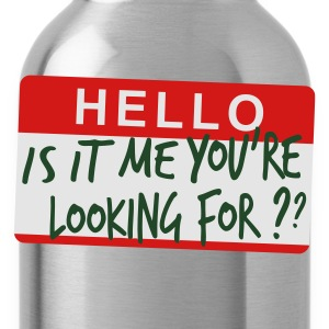 HELLO MY NAME IS - Water Bottle