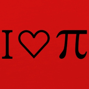 I heart Pi (1c) T-Shirt - Women's Premium Long Sleeve T-Shirt