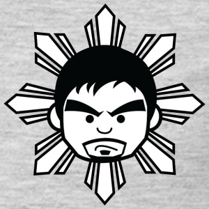 Filipino Rising Sun T-Shirts - Men's Premium Long Sleeve T-Shirt