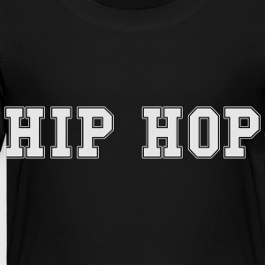 Hip hop college Kids' Shirts - Toddler Premium T-Shirt