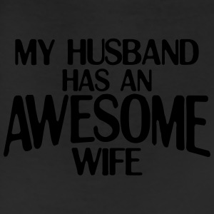 MY HUSBAND HAS AN AWESOME WIFE WOMEN T-SHIRT - Leggings