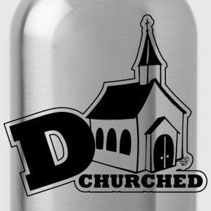 deCHURCHed by Tai's Tees - Water Bottle