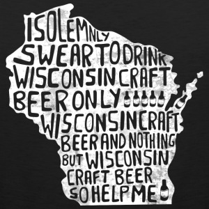 Wisconsin Solemnly Swear T-Shirts - Men's Premium Tank