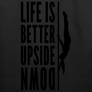 Life Is Better Upside Down Tank Top - Eco-Friendly Cotton Tote