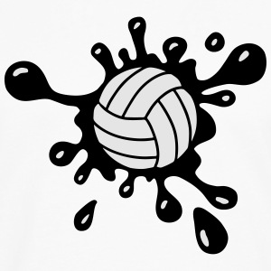 Volleyball Splash Women's T-Shirts - Men's Premium Long Sleeve T-Shirt