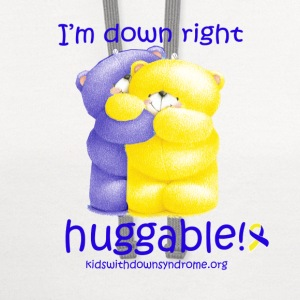 Down Right Huggable Baby & Toddler Shirts - Contrast Hoodie