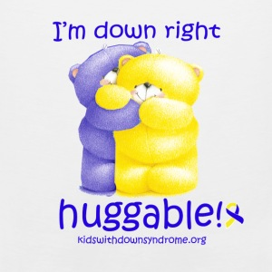 Down Right Huggable Baby & Toddler Shirts - Men's Premium Tank