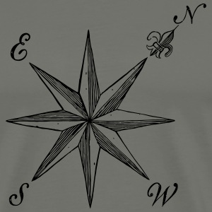Compass Rose  - Men's Premium T-Shirt
