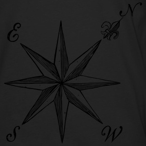 Compass Rose  - Men's Premium Long Sleeve T-Shirt