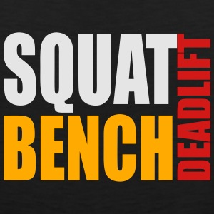 Squat Bench Deadlift - girls kids t - Men's Premium Tank