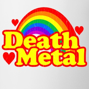Funny Death Metal Rainbow (vintage look) - Coffee/Tea Mug