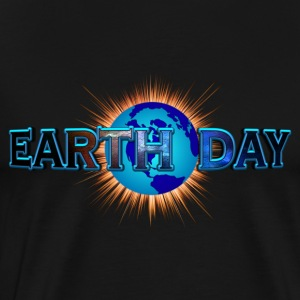 Earth Day Earth Blast Hoodies - Men's Premium T-Shirt