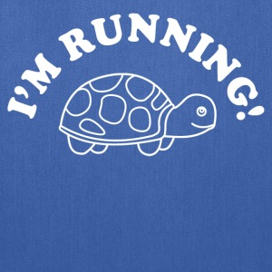 I'm Running Turtle Women's T-Shirts - Tote Bag