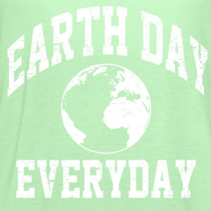 everyday is earth day T-Shirts - Women's Flowy Tank Top by Bella