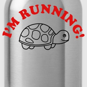 I'm Running T-Shirts - Water Bottle