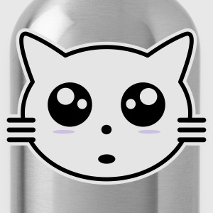Kitty manga Women's T-Shirts - Water Bottle
