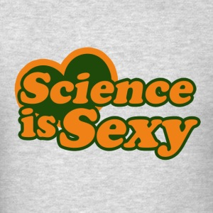 Science is sexy - Men's T-Shirt