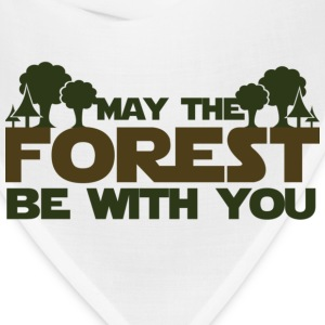 May the forest be with you earth day humor - Bandana