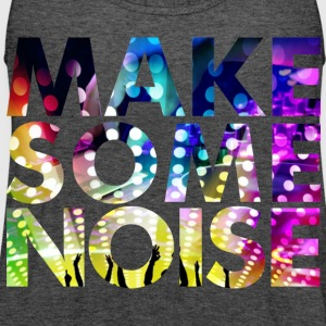 MAKE SOME NOISE DANCE PARTY WOMEN T-SHIRT - Women's Flowy Tank Top by Bella