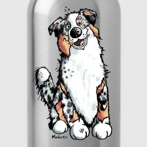 Funny Australian Shepherd T-Shirts - Water Bottle