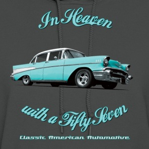 Mens T-shirt by American Apparel | Blue 57 Chevy | - Women's Hoodie