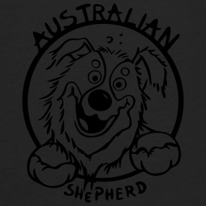 Cute Australian Shepherd Baby & Toddler Shirts - Men's Premium Long Sleeve T-Shirt