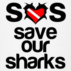 Save Our Sharks - Men's T-Shirt