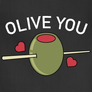 Olive You - Adjustable Apron
