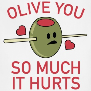 Olive You So Much It Hurts - Adjustable Apron