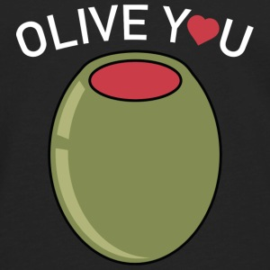 Olive You - Men's Premium Long Sleeve T-Shirt
