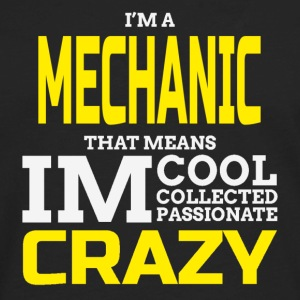 Crazy Mechanic T-Shirts - Men's Premium Long Sleeve T-Shirt