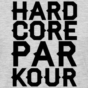 Hardcore Parkour T-Shirts - Men's Premium Long Sleeve T-Shirt