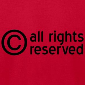 copyright Sweatshirts - Men's T-Shirt by American Apparel
